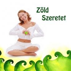 Zöld Szeretet, a szívcsakrát harmonizáló csakraparfüm (térparfüm)