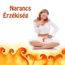 Narancs Érzékiség, a szexcsakrát harmonizáló csakraparfüm (térparfüm)