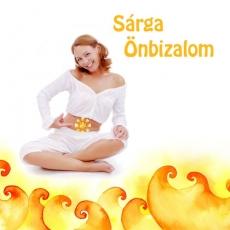 Sárga Önbizalom, a napfonat csakrát harmonizáló csakraparfüm (térparfüm)